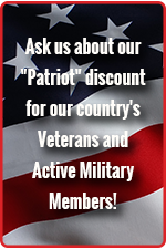 Discounts for Military, Firefighters, EMS and Police Officers
