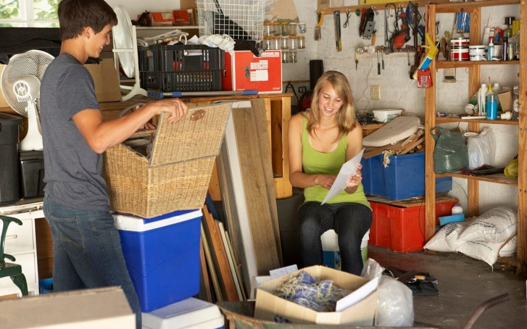 Organize Your Garage in Four Simple Steps